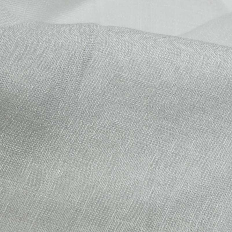White Plain Rayon Slub Fabric