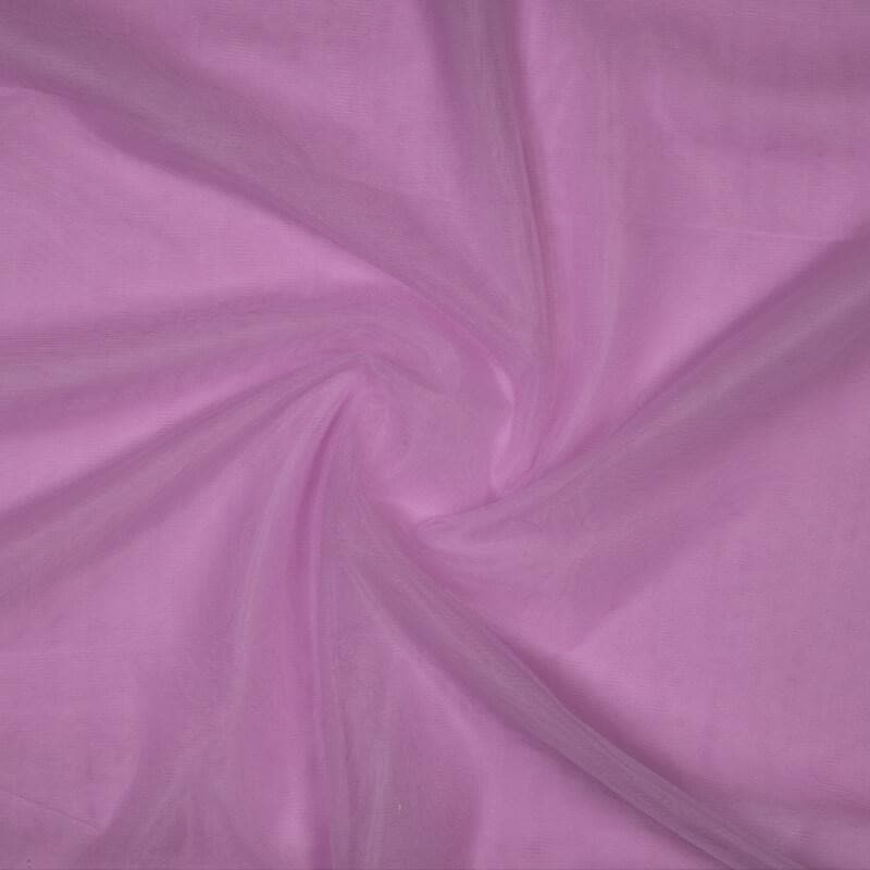 Light Purple Plain Premium Quality Butterfly Net Fabric