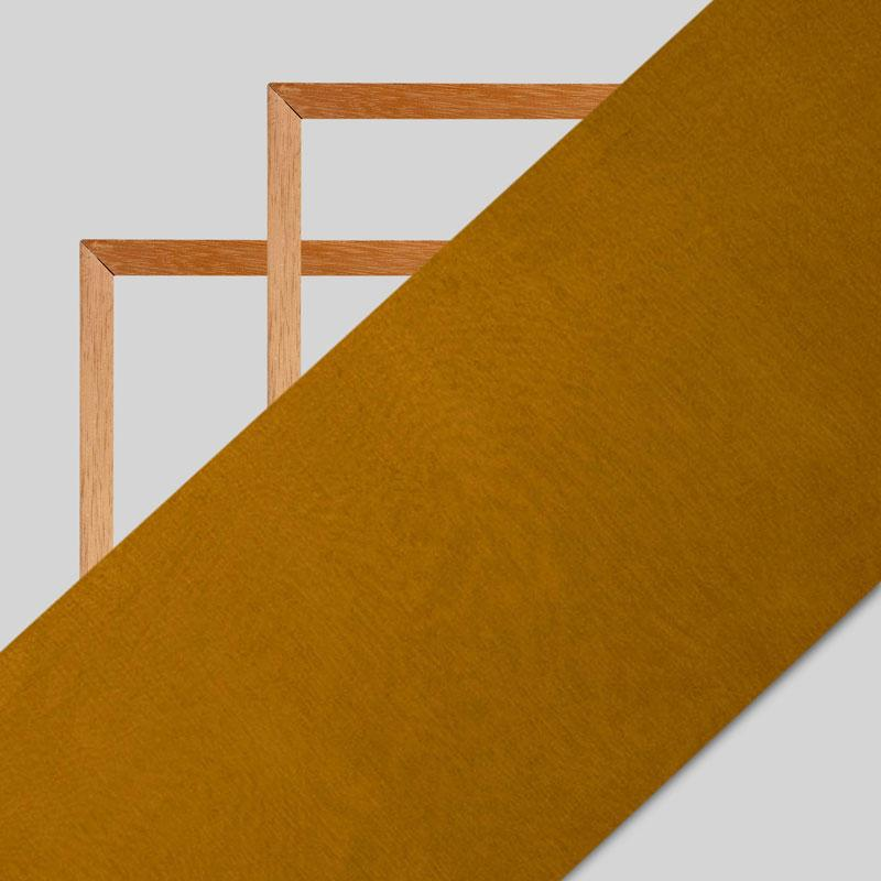 Golden Brown Plain Viscose Chinon Chiffon Fabric