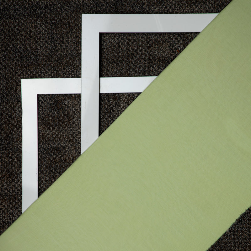 Mul-Mul Sage Green Dyed Fabric