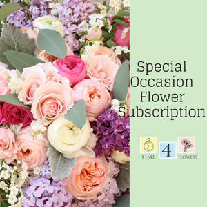 2021 Special Occasion Flower Subscription