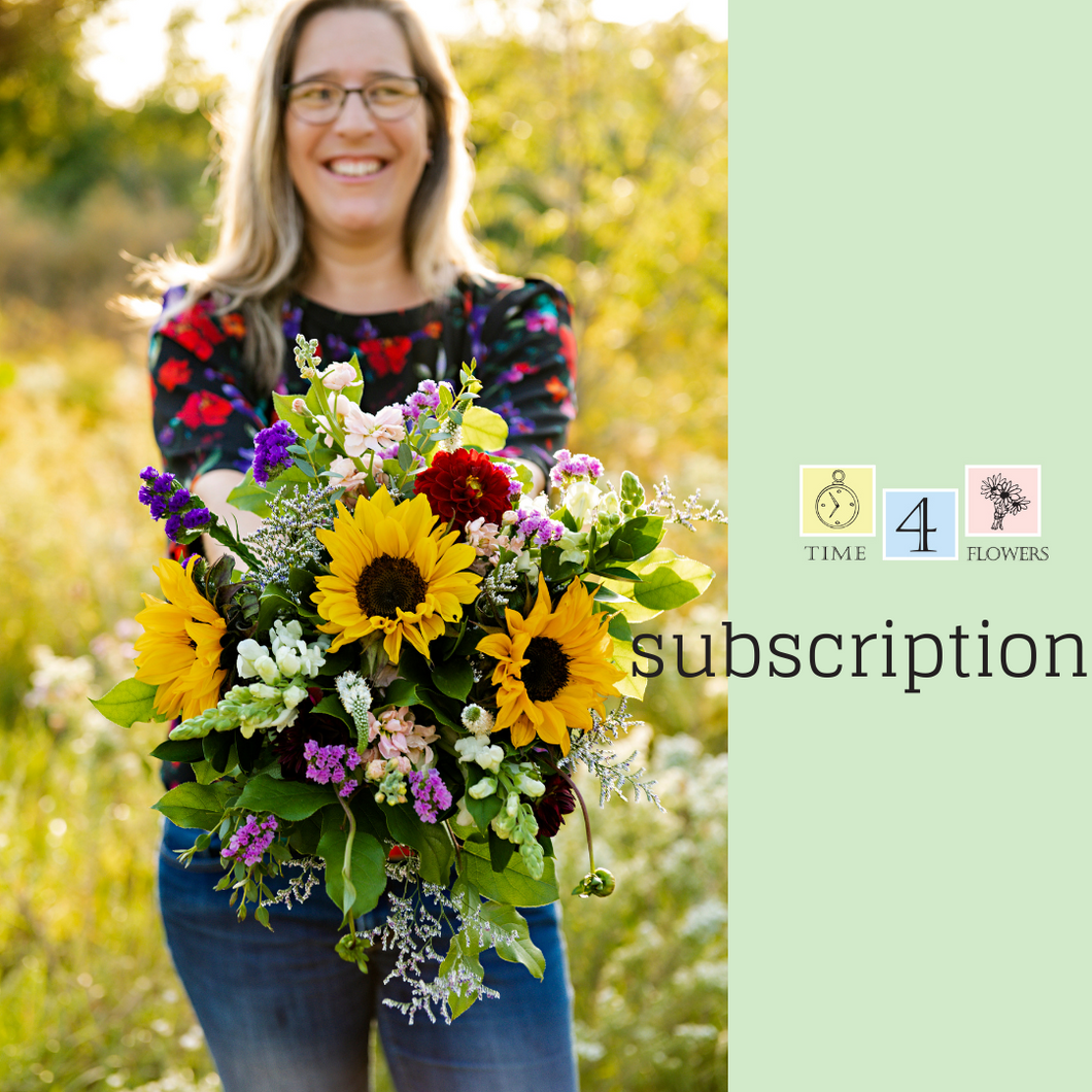 Flower Subscription 2021