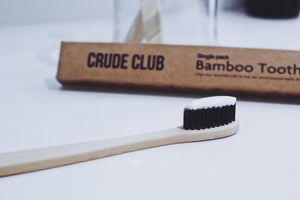 Crude Club Bamboo Toothbrush