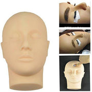 Rubber Practice Mannequin Manikin Head Eyelashes Makeup Massage - Blend Fit Portables™