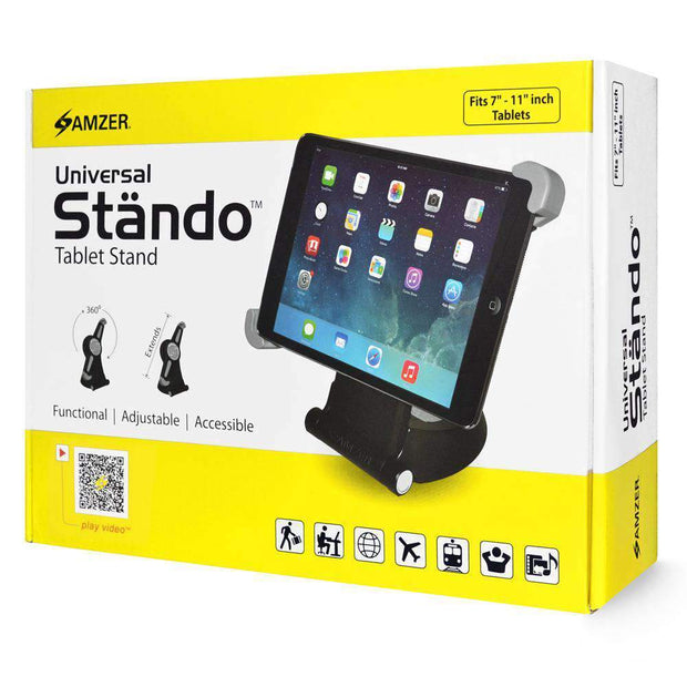 Amzer® Stando™ Universal Stand for 7 - 11 Inch Tablets - Blend Fit Portables™