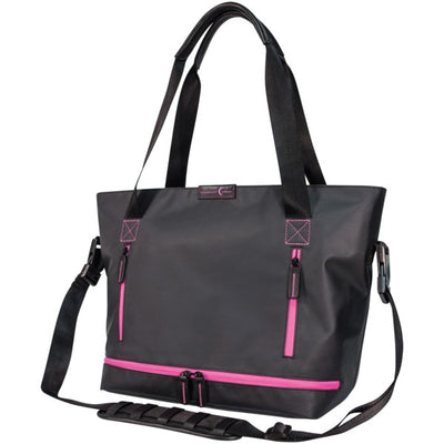 Crescent Moon Studio Tote (Black And Violet) - Blend Fit Portables™