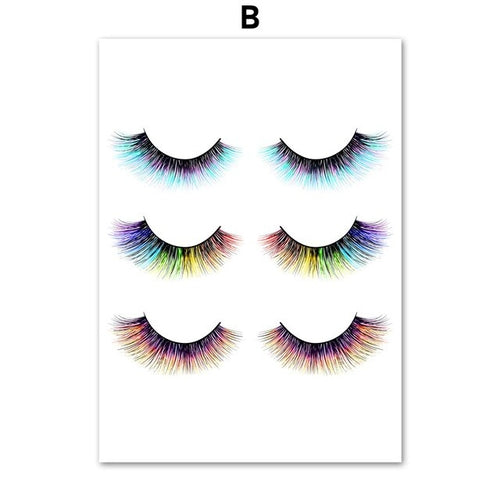 Watercolor Vogue Makeup Eyelash Salon - Blend Fit Portables™