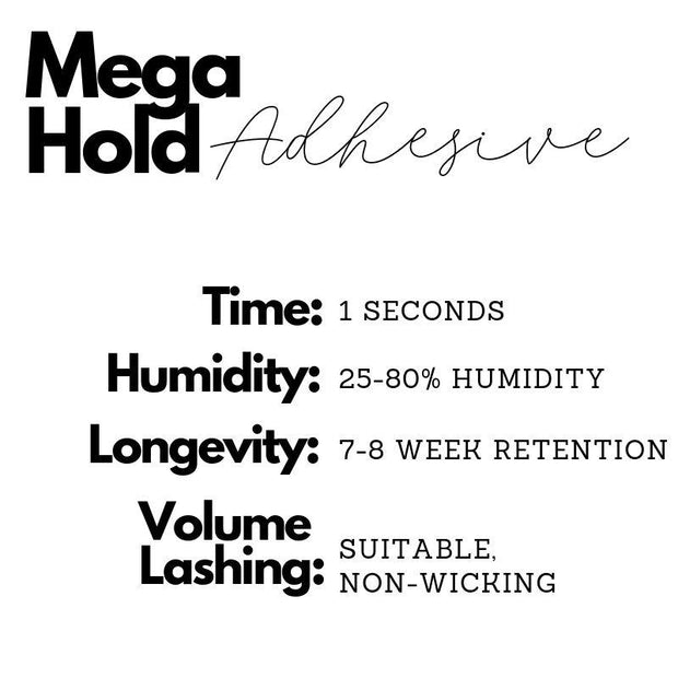 Adhesive - Mega Hold 5 ML *oil resistant - Blend Fit Portables™
