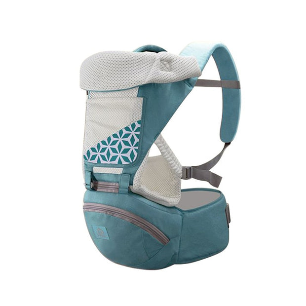 Ergonomic Carrier with Detachable Hip Seat - Blend Fit Portables™