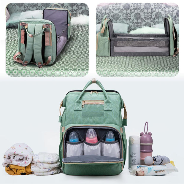Baby Backpack with Pop-out Bassinet - Blend Fit Portables™