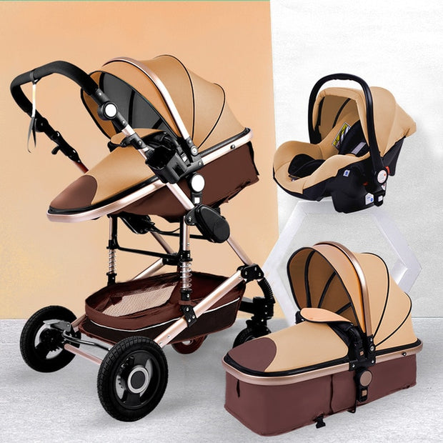 3-in-1 Stroller, Bassinet, & Infant Carrier - Blend Fit Portables™