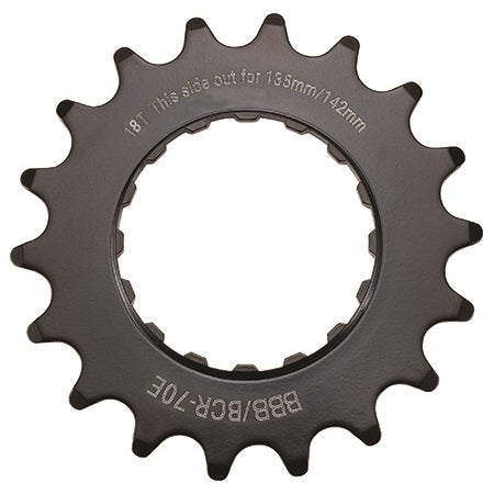 "BBB - E-Bike Sprocket 18T x 3/32"" (142mm)"