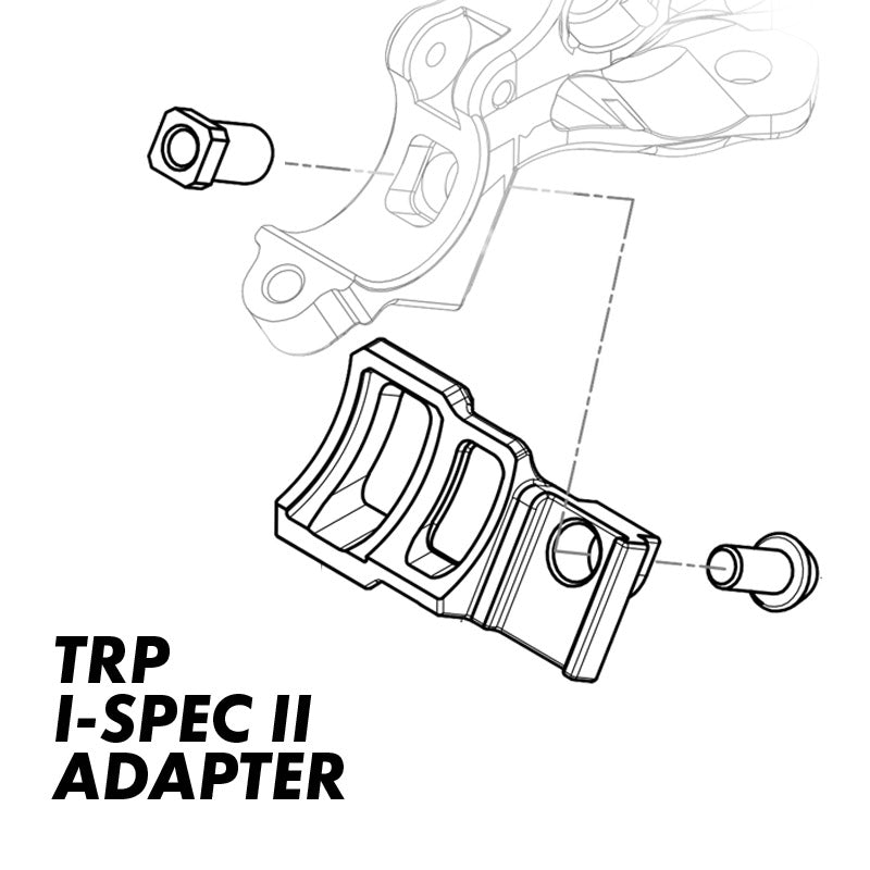 TRP - I-Spec II Shifter Adapter Kit (Left or Right Side)