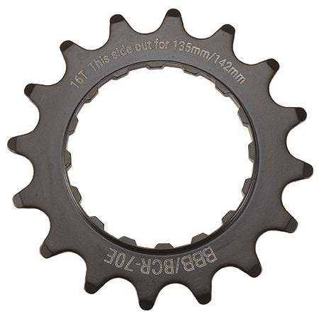 "BBB - E-Bike Sprocket 16T x 3/32"" (142mm)"