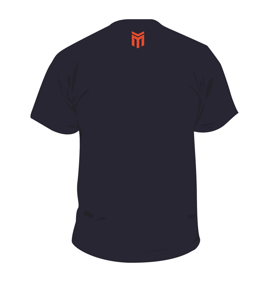 MAXXIS NAVY T-SHIRT BACK