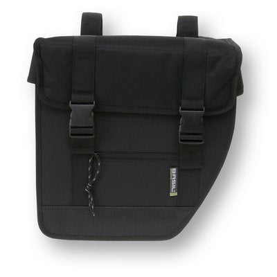 basil-tour-double-bike-bag-black side
