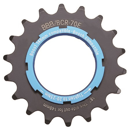 BBB - E-Bike Sprocket 18T x 3/32""