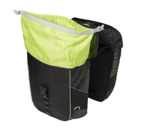 basil-miles-bicycle-double-bag-34l-black open 1