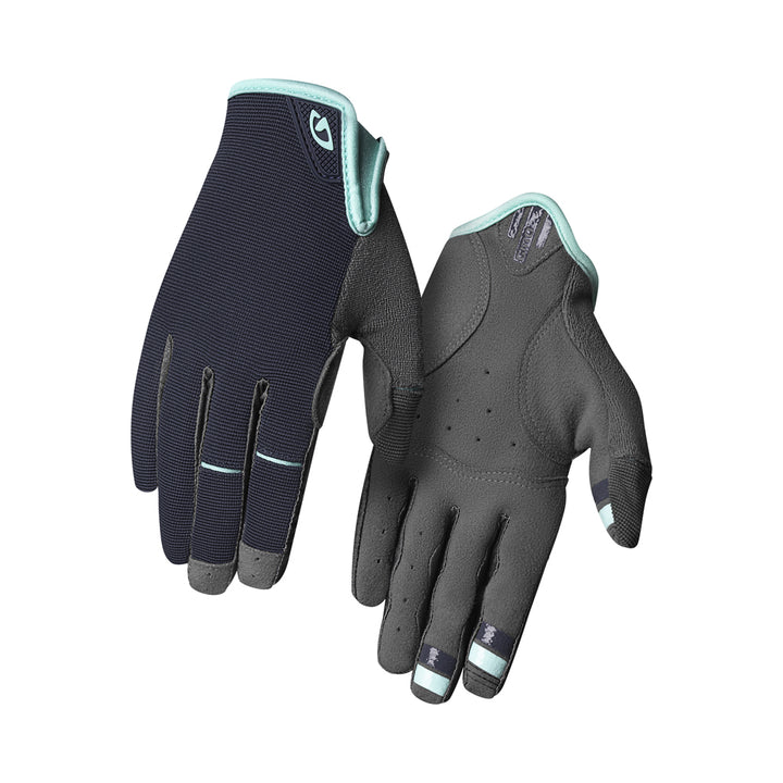 Giro LA DND Womens Gloves Midnight Blue Cool Breez