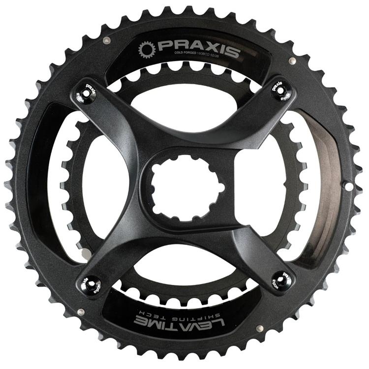 PRAXIS - Zayante Carbon Road Crankset (X-Spider Direct Mount)