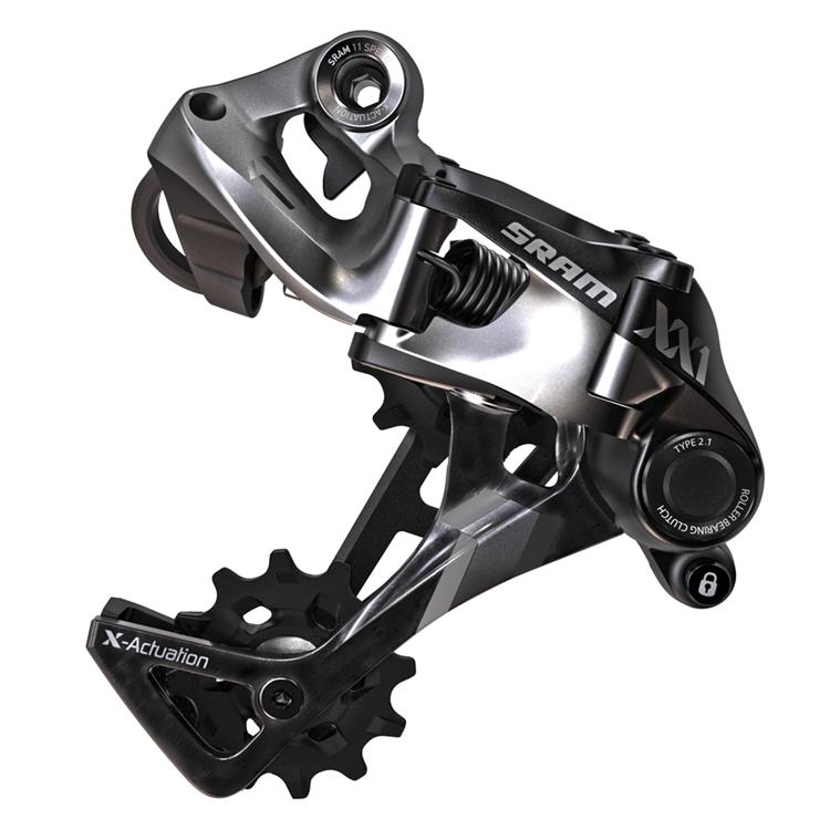 SRAM MTB XX1 Type 2 Rear Derailleur - Black