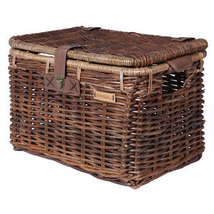 Basil Denton - bicycle basket - Medium - brown
