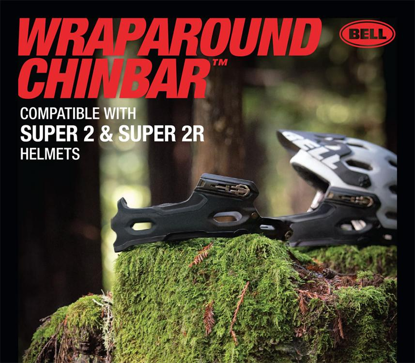 Bell Wraparound Chinbar - Super 2 & 2R