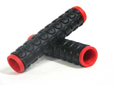 BLK W/RED END D2 GRIP