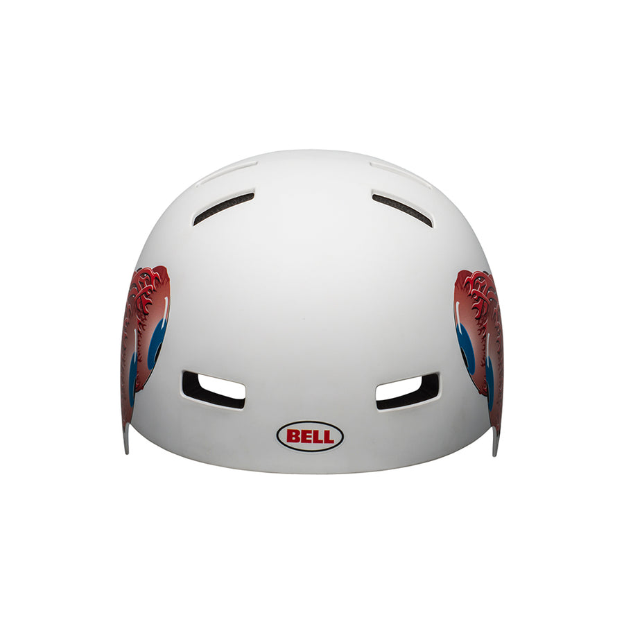 Bell Local eyes Matte White front