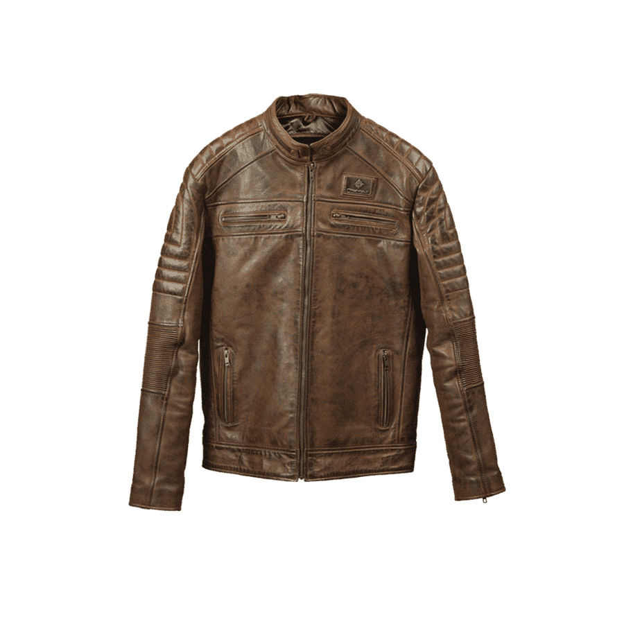 RAYVOLT LEATHER JACKET
