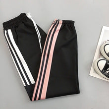 Load image into Gallery viewer, Plus Size Baggy Harem Pants Women Breathable Quick Dry Leisure Summer Soft Sweatpants Women High Waist Long Harajuku Trousers