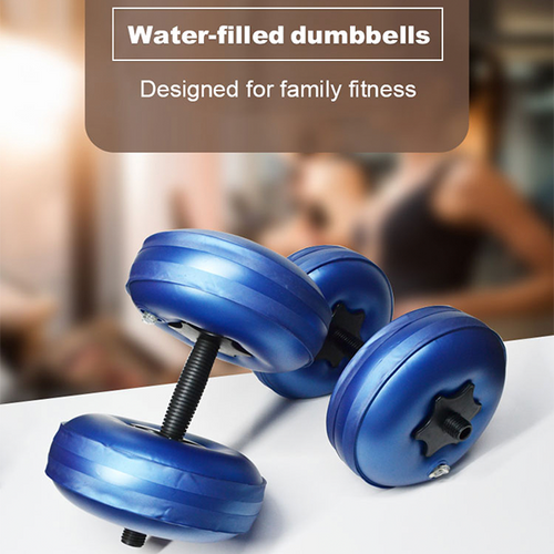 Water-filled dumbbells