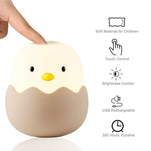 Chick LED Night Light For Nursery, Baby & Kids