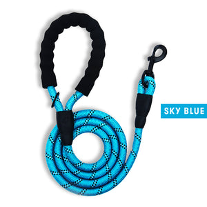 Heavy Duty Pet Dog Rope Leash Reflective 5Ft (1.5M)