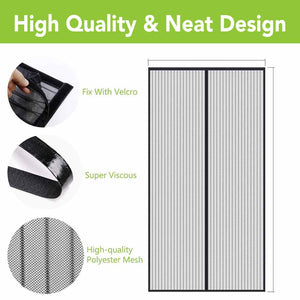 High Quality Mesh, Velcro Fixture, Super Viscous
