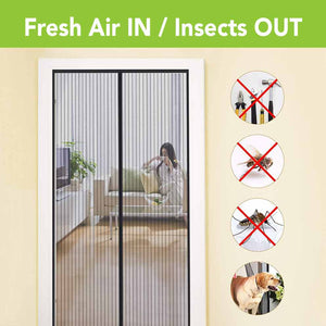 Fresh Air IN / Insects OUT
