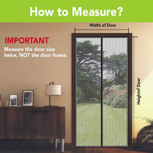 Measure the Door size twice, NOT the door frame