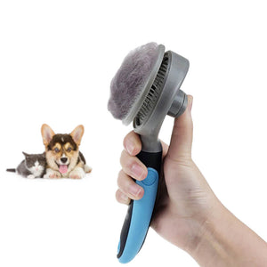Pet Slicker Brush Grooming Tool for Dogs & Cats
