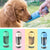 Pet Dog Cat Water Bottle Dispenser Outdoor Travel