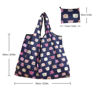XL Foldable Reusable Shopping Bag