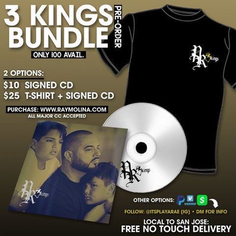 "Playa Rae ""3 Kings"" Bundle Pack Pre-Order (Signed Copy)"