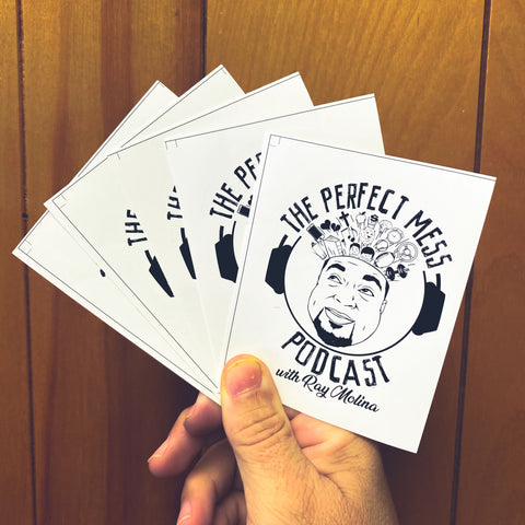 The Perfect Mess Podcast (5 Pack Logo Sticker)