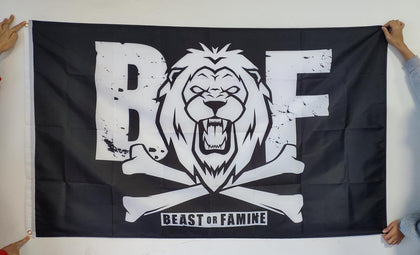 Beast or Famine Flag