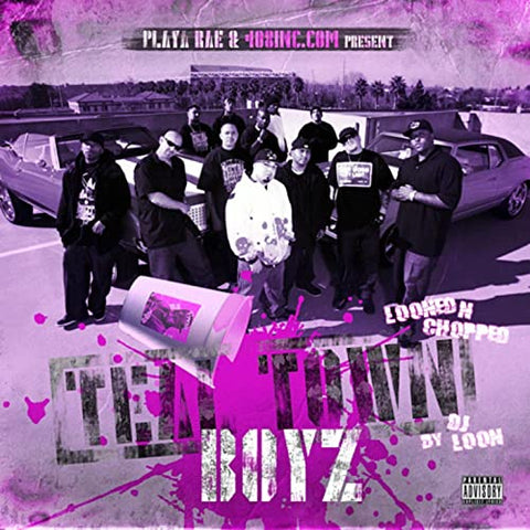 Playa Rae Presents: Teal Town Boyz Compilation (Looned & Chopped) - Digital Only