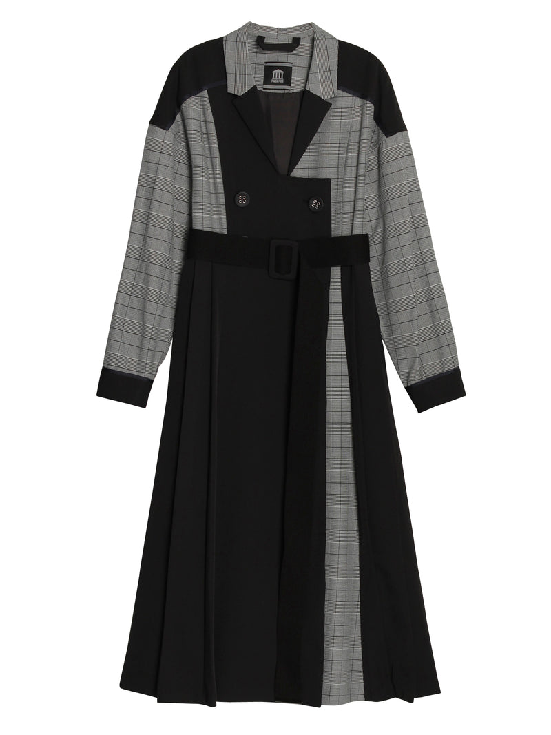 Mix Dress Coat