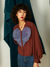 Big Heart Blouse
