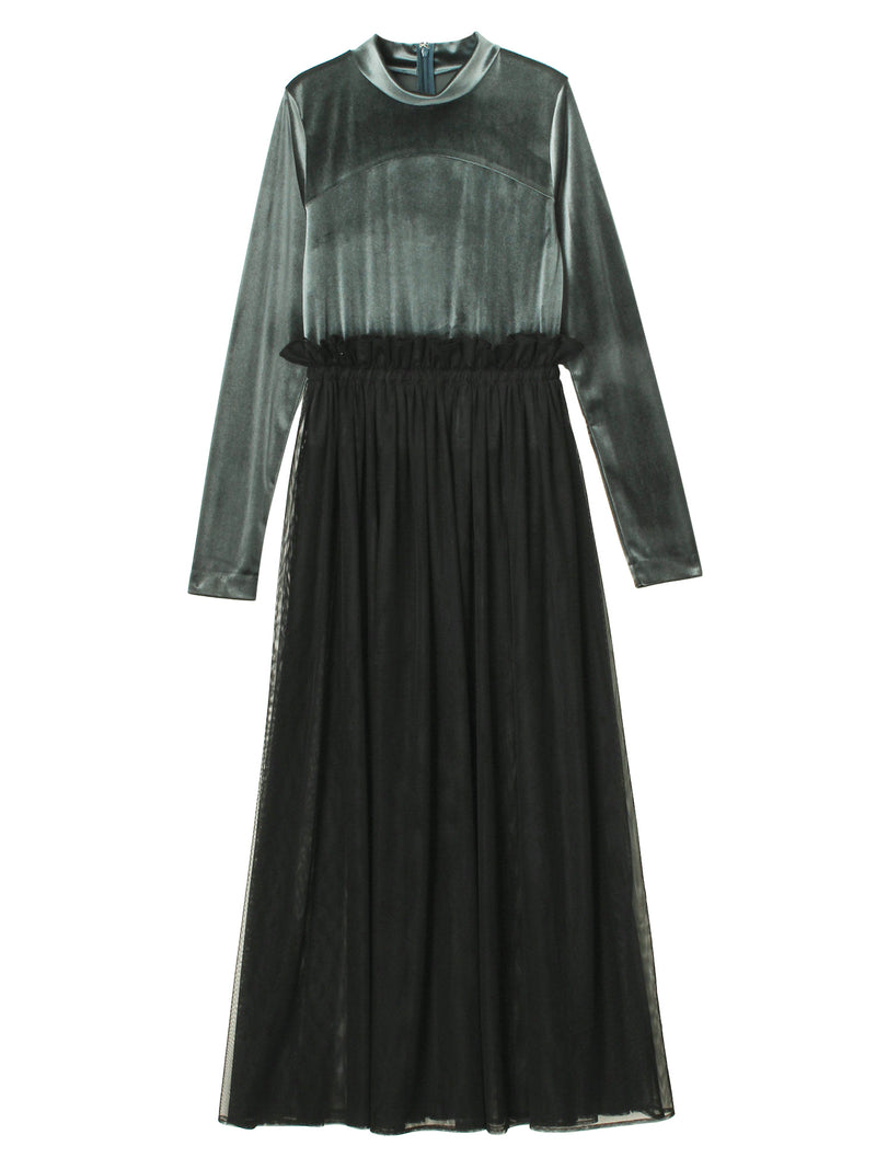 Velour Ball Dress