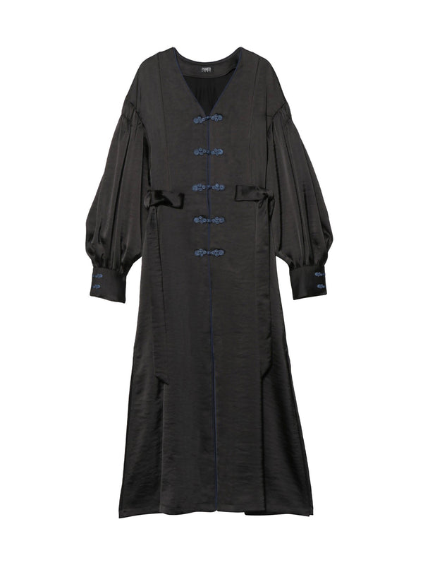 Mandarin Robe Dress