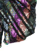 【KLOSET】Colorful Sequin Tops