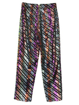 【KLOSET】Colorful Sequin Pants
